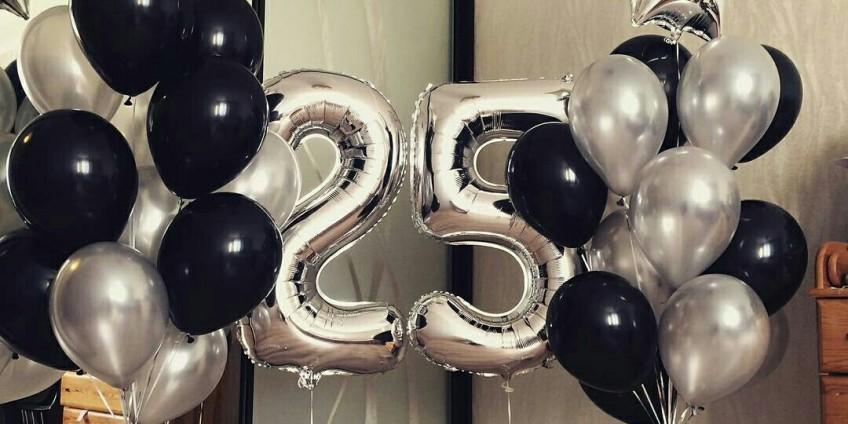 Как дополнить подарок на день рождения? Купить воздушные шары