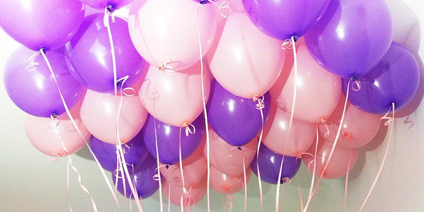 Воздушные шары с гелием: разновидности, особенности